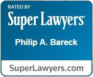 Phillip Bareck Super Lawyers Badge
