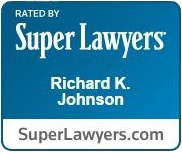 Richard Johnson Super Lawyers Badge